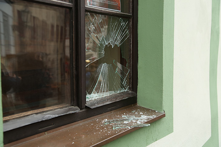A2B Glass are able to board up broken windows while they are being repaired in Clapham Common.